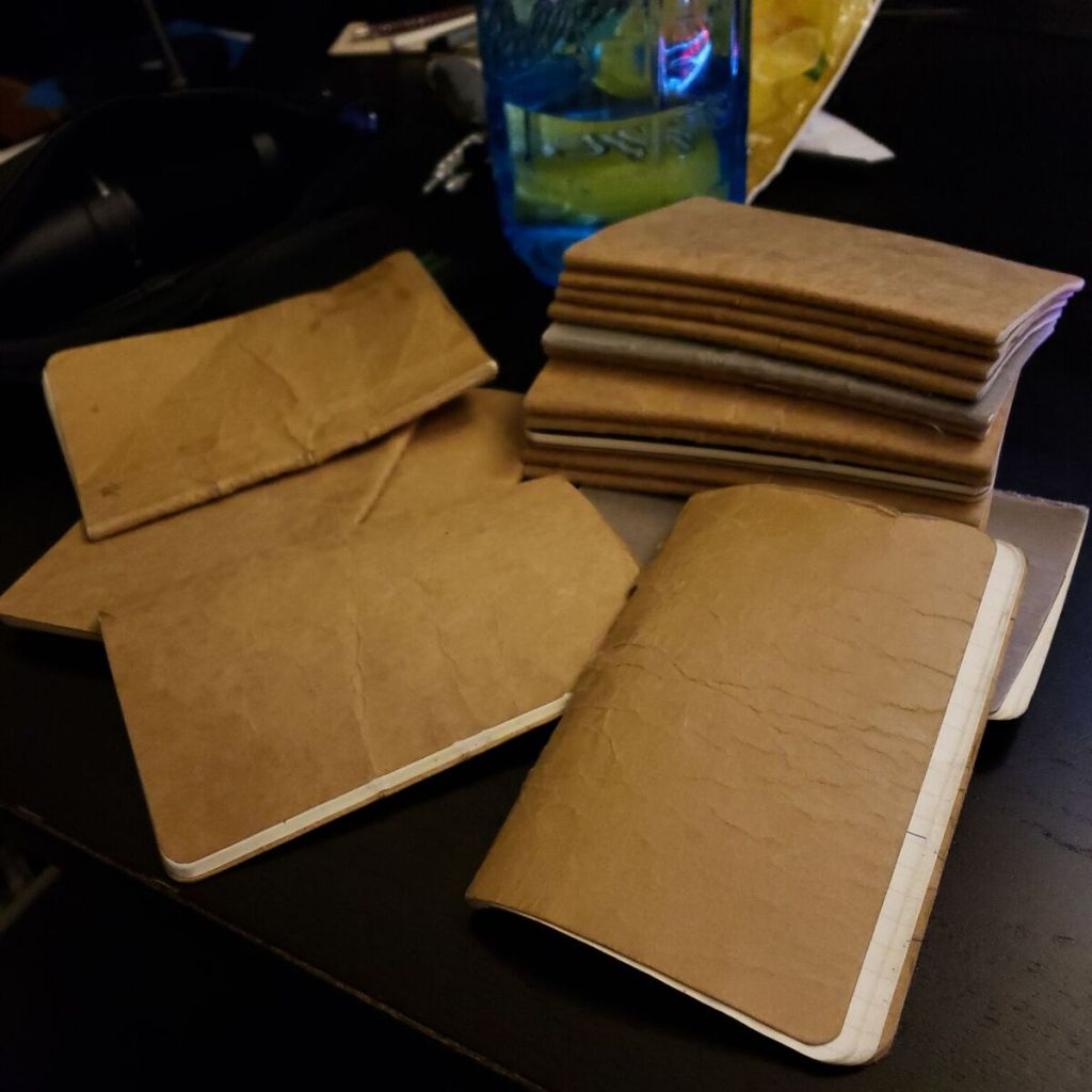 A collection of Zareh's notebooks